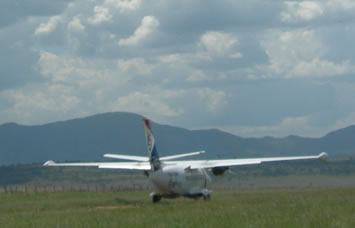 Flying Safari in Uganda